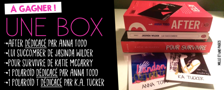 Concours ♦ BOX SUCCOMBER